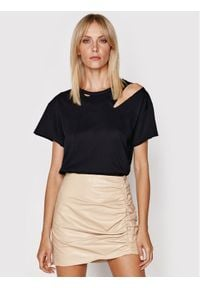 LaMarque T-Shirt Zasha Czarny Loose Fit. Kolor: czarny