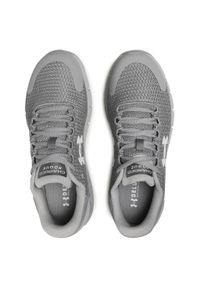 Szare buty do biegania Under Armour