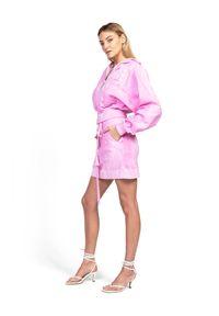 ROBERT KUPISZ - Różowa spódnica ORIENT MONSHO. Okazja: na co dzień. Kolor: fioletowy, różowy, wielokolorowy. Materiał: bawełna. Styl: casual, sportowy