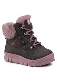 Lasocki Kids - Trzewiki LASOCKI KIDS - CI12-GEE-01 Grey. Okazja: na spacer. Kolor: szary. Materiał: skóra, nubuk, materiał. Sezon: zima