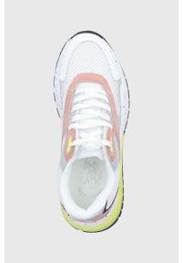 U.S. Polo Assn. - Buty. Zapięcie: sznurówki. Kolor: biały. Materiał: guma, syntetyk, materiał, skóra, zamsz. Szerokość cholewki: normalna. Obcas: na obcasie. Wysokość obcasa: średni #5