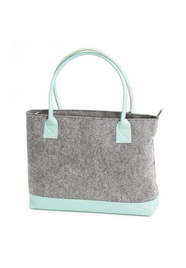 Miętowa torba na laptopa Platinet