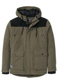 Zielona kurtka bonprix na zimę