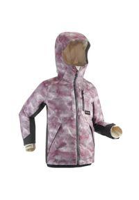 DREAMSCAPE - Kurtka snowboardowa dla dzieci Dreamscape SNB JKT 500. Kolor: fioletowy. Materiał: polar, materiał. Sezon: zima. Sport: snowboard #1