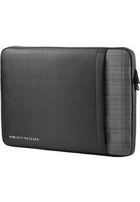 "Etui HP UltraBook Sleeve 15.6"" Czarno-szary. Kolor: wielokolorowy, czarny, szary"