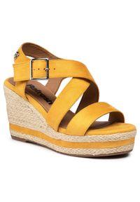 Żółte sandały Refresh