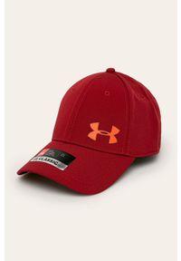 Brązowa czapka z daszkiem Under Armour z aplikacjami