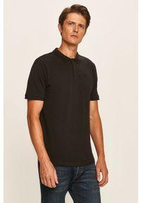 Czarna koszulka polo Only & Sons krótka, na co dzień