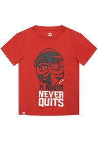 Czerwony t-shirt LEGO Wear