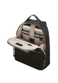 Czarny plecak na laptopa Samsonite elegancki