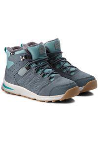 Niebieskie buty zimowe salomon