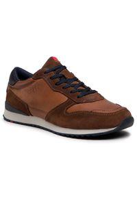 Lloyd Sneakersy Edmond 20-900-12 Brązowy. Kolor: brązowy