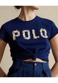 Niebieski t-shirt Ralph Lauren polo