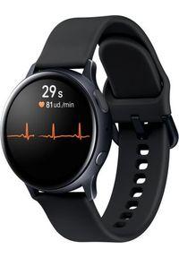SAMSUNG - Smartwatch Samsung Galaxy Watch Active 2 LTE Black Alu 40mm Czarny (SM-R835FZKADBT). Rodzaj zegarka: smartwatch. Kolor: czarny
