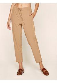 Brązowe spodnie Marella