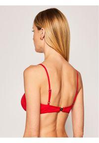 Czerwone góra bikini Karl Lagerfeld