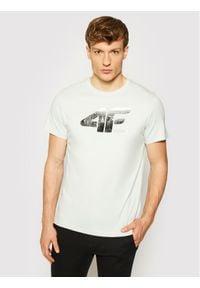 4f - 4F T-Shirt H4L21-TSM024 Szary Regular Fit. Kolor: szary