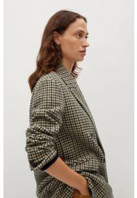 Brązowy płaszcz mango bez kaptura, casualowy #8