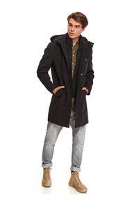 Szary płaszcz TOP SECRET