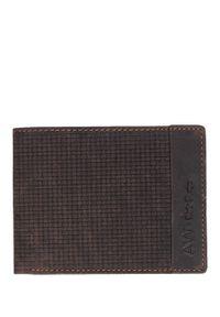 Brązowy portfel Cedar
