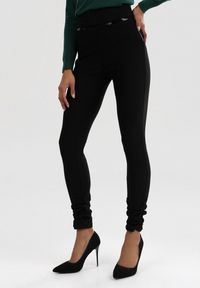 Czarne spodnie Born2be #5