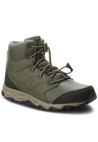 Zielone buty zimowe New Balance
