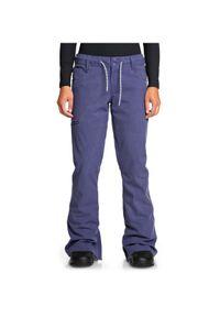 Fioletowe spodnie sportowe DC snowboardowe
