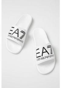 EA7 Emporio Armani - Klapki. Kolor: biały