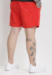 Born2be - Czerwone Szorty Evaneira. Kolor: czerwony #5