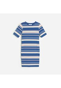 Niebieska sukienka Reserved