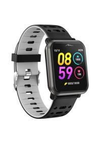 Czarny zegarek Media-Tech