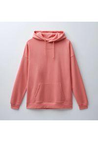 House - Bluza z kapturem i nadrukiem - Różowy. Typ kołnierza: kaptur. Kolor: różowy. Wzór: nadruk