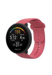 Różowy zegarek POLAR cyfrowy, sportowy