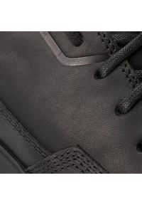CATerpillar - Sneakersy CATERPILLAR - Camberwell P722916 Black. Okazja: na co dzień. Kolor: czarny. Materiał: skóra ekologiczna, materiał. Styl: sportowy, casual