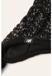Czarna czapka New Balance melanż