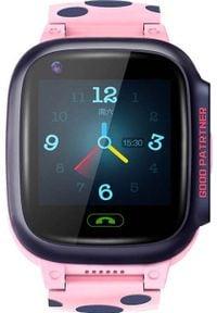 Smartwatch Roneberg RY95 Różowy. Rodzaj zegarka: smartwatch. Kolor: różowy