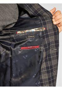 CG - CLUB of GENTS Marynarka Cg Adkyn Sv 221022-003 Granatowy Tailored Fit. Kolor: niebieski #4