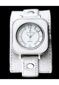 Biały zegarek NoName