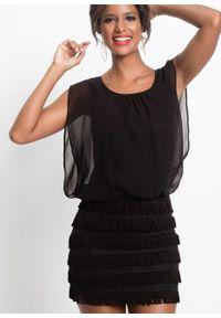 Czarna sukienka bonprix na imprezę