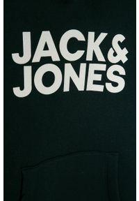 Niebieska bluza Jack & Jones casualowa, na co dzień