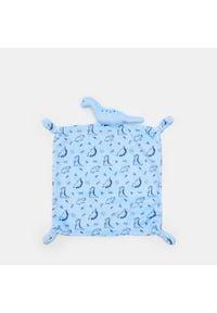 Sinsay - Kocyk do przytulania - Niebieski. Kolor: niebieski