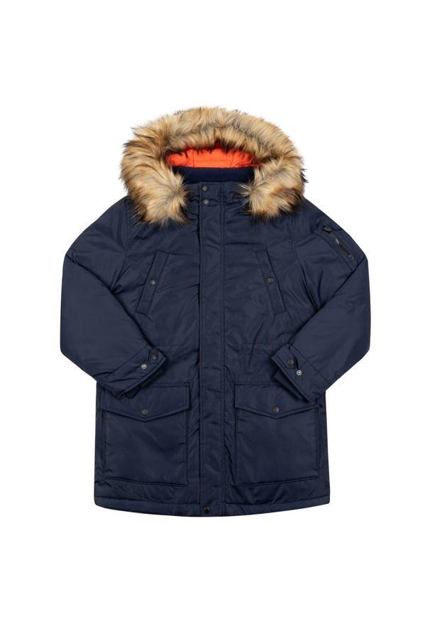 Niebieska kurtka zimowa Pepe Jeans