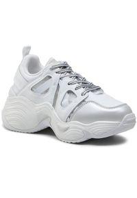 Białe buty sportowe Emporio Armani