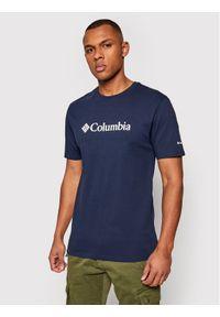 columbia - Columbia T-Shirt Csc Basic Logo™ 1680053 Granatowy Regular Fit. Kolor: niebieski