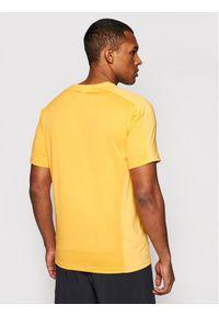 Calvin Klein Performance T-Shirt Wo 00GMF0K150 Żółty Regular Fit. Kolor: żółty