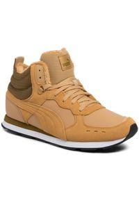 Puma Sneakersy Vista Mid Wtr 369783 03 Żółty. Kolor: żółty