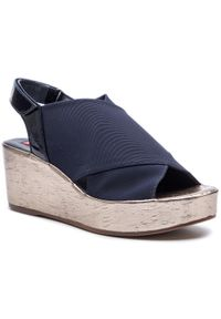 Niebieskie sandały HÖGL casualowe, na co dzień
