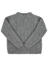 Mayoral Sweter 7302 Szary Regular Fit. Kolor: szary