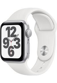 APPLE - Smartwatch Apple Watch SE GPS 40mm Silver Alu White Sport Biały (MYDM2WB/A). Rodzaj zegarka: smartwatch. Kolor: biały. Styl: sportowy