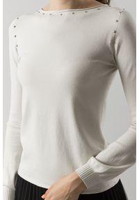 Sweter TwinSet krótki, z długim rękawem